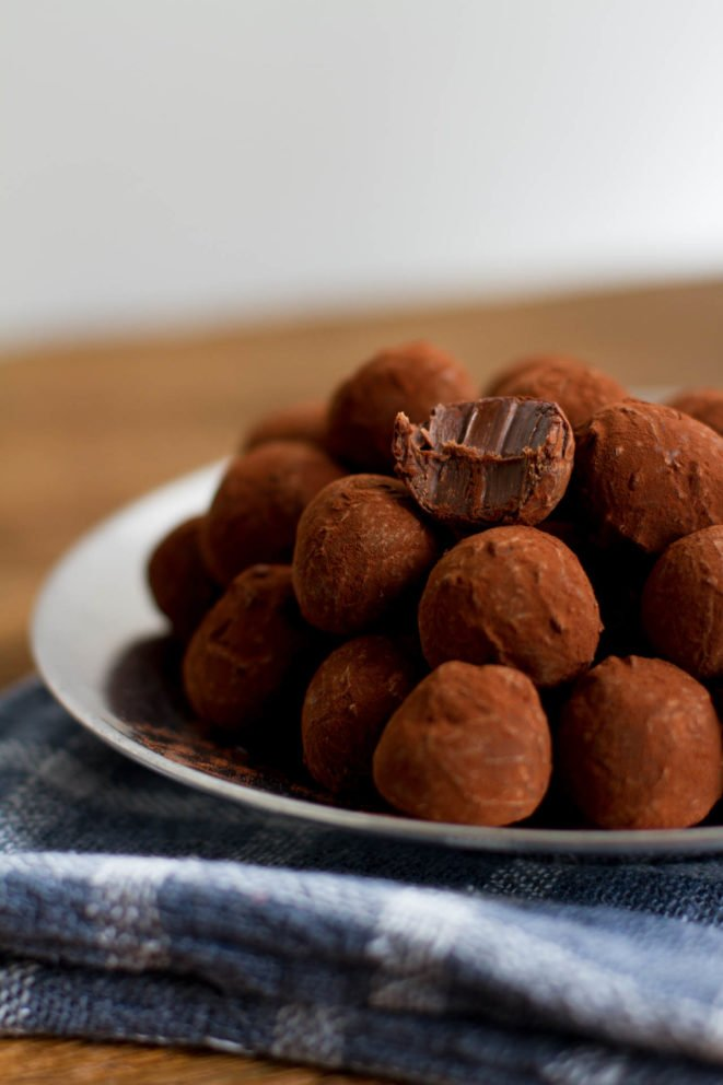 Trufa de chocolate ultra cremosa